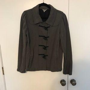 Gray casual jacket